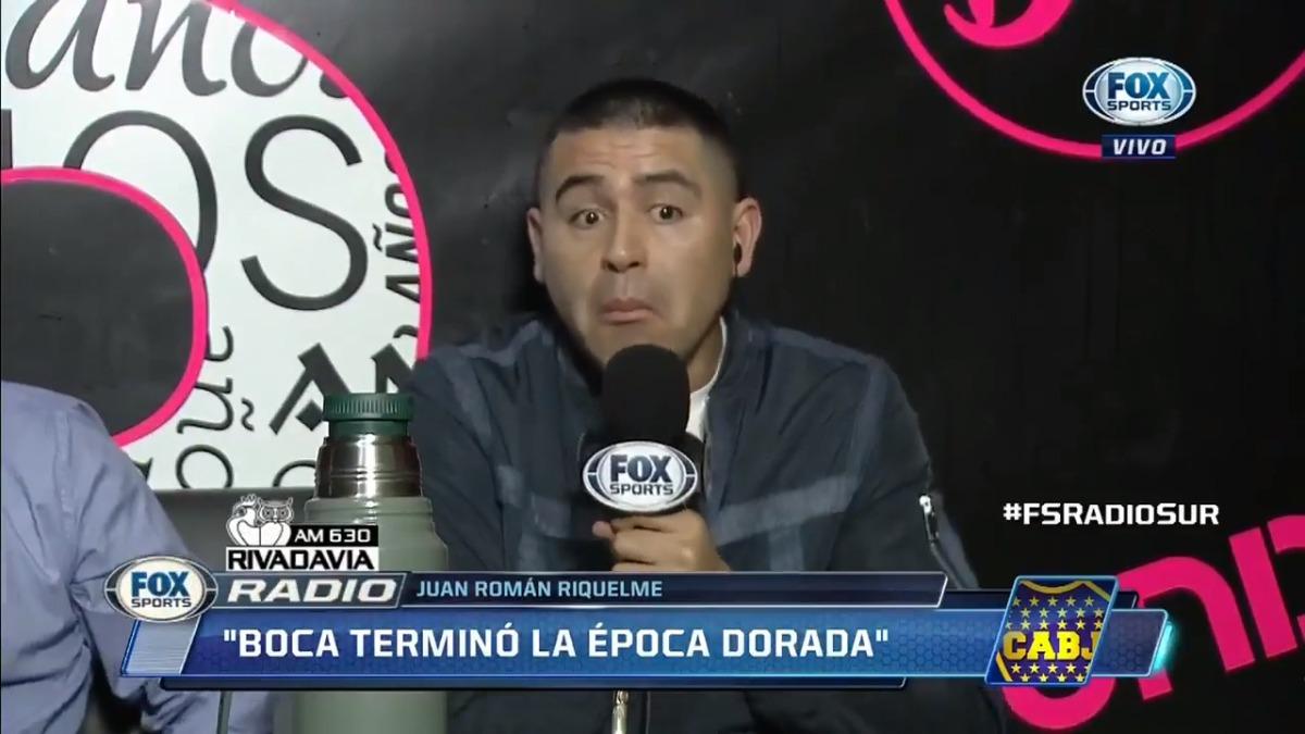 Juan Román Riquelme también se refirió a la derrota de Boca ante River Plate.