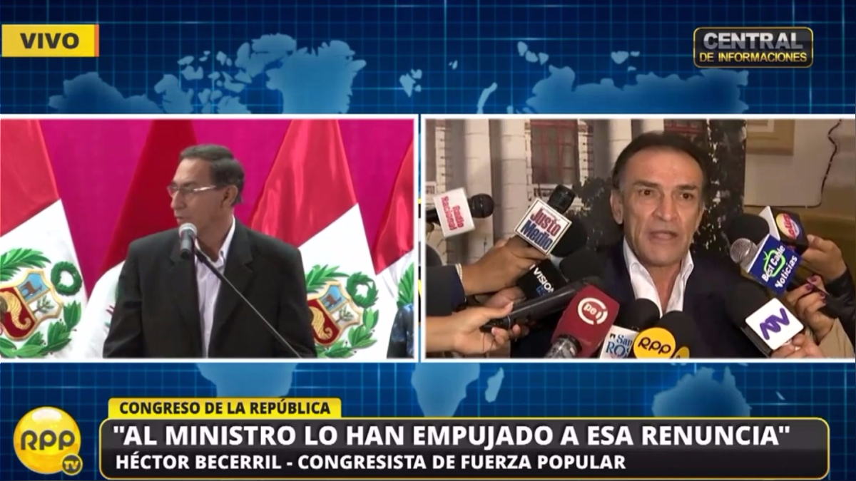 Becerril dijo que esperarán informe de la Contraloría.