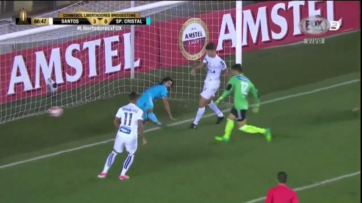 Sporting Cristal fue a hace un papelón a Brasil y terminó colero sin un triunfo en la Copa Libertadores 2017.