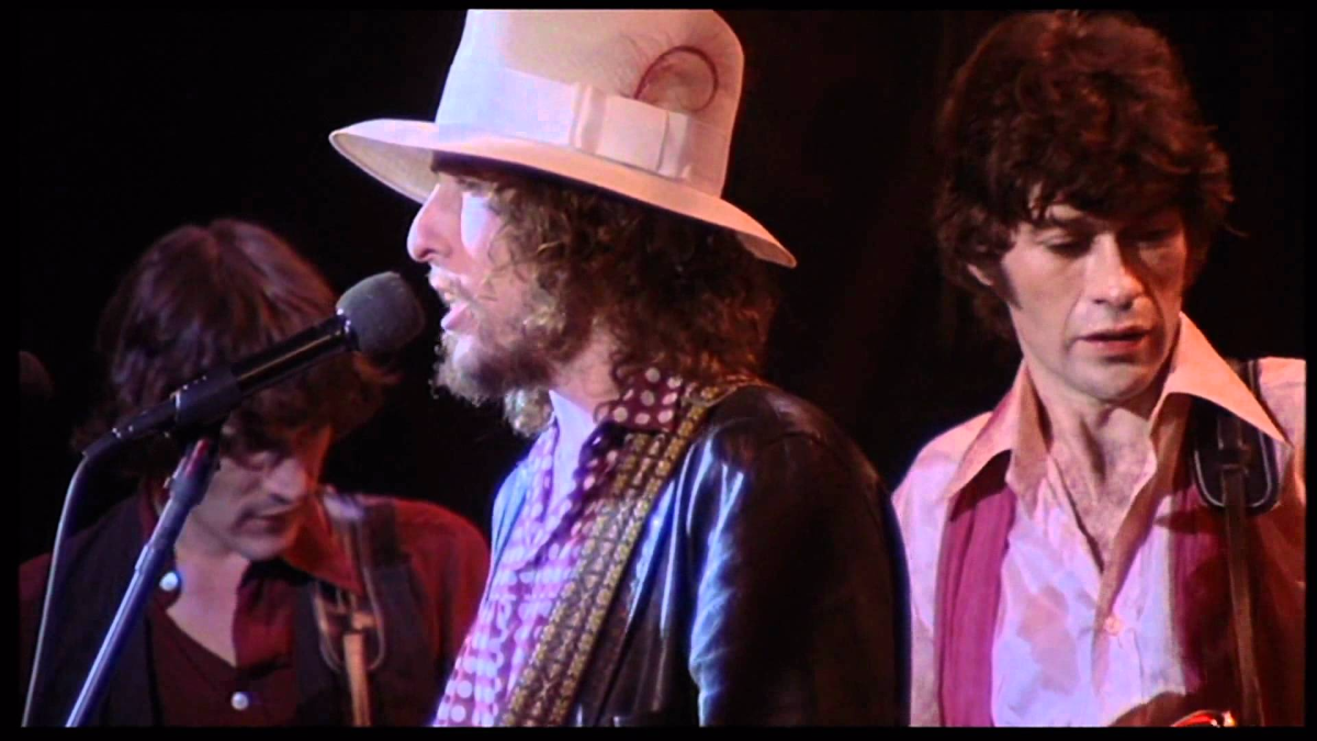 Forever Young (con The Band), tomado del film 'The Last Waltz' de Martin Scorcese.