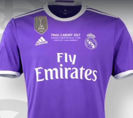 Real Madrid usará camiseta especial para la final de Champions League  23f0073249692