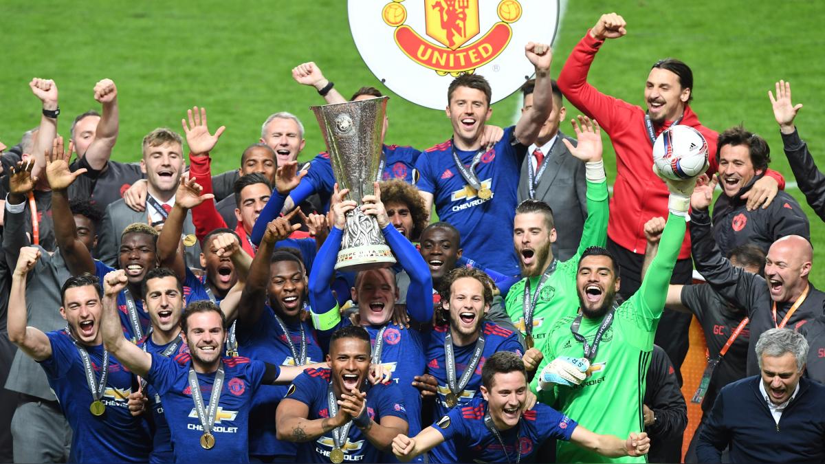 Manchester United logró su tercer título en la temporada 2016/2017.