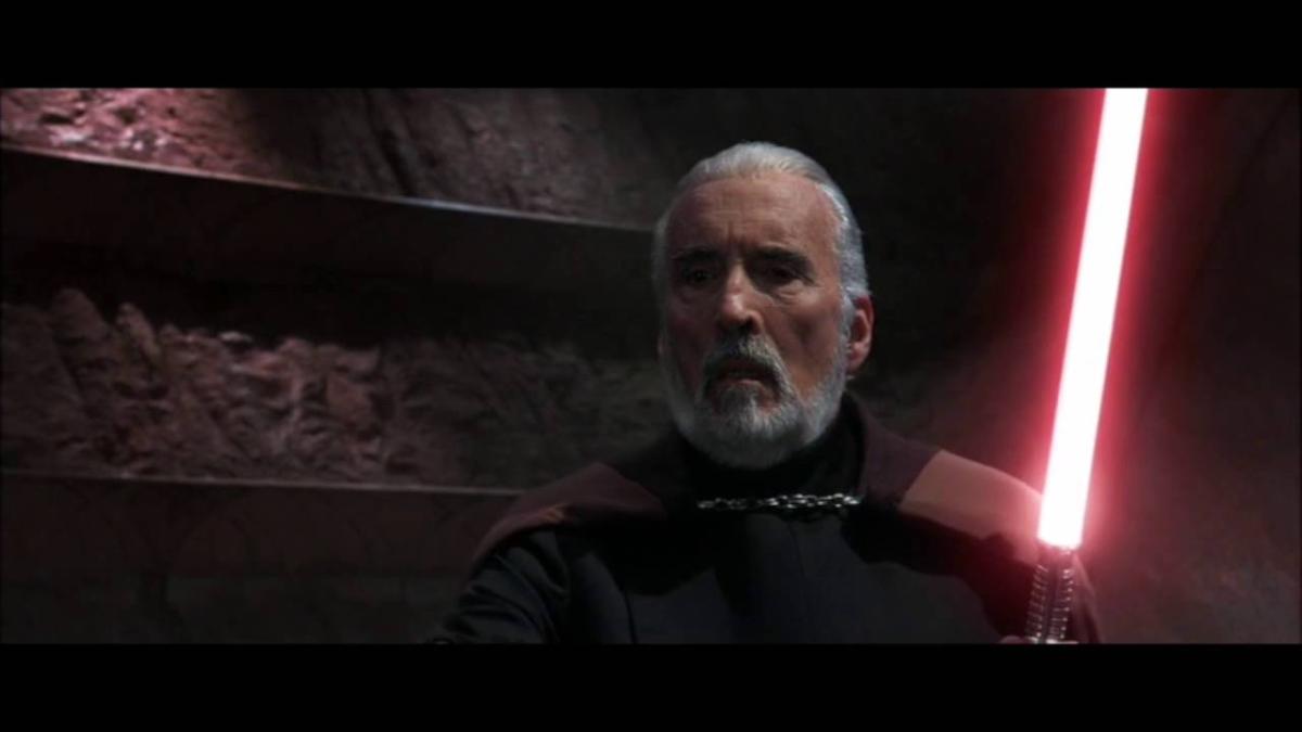 Anakin Skywalker, Obi-Wan Kenobi y Maestro Yoda vs. Conde Dooku