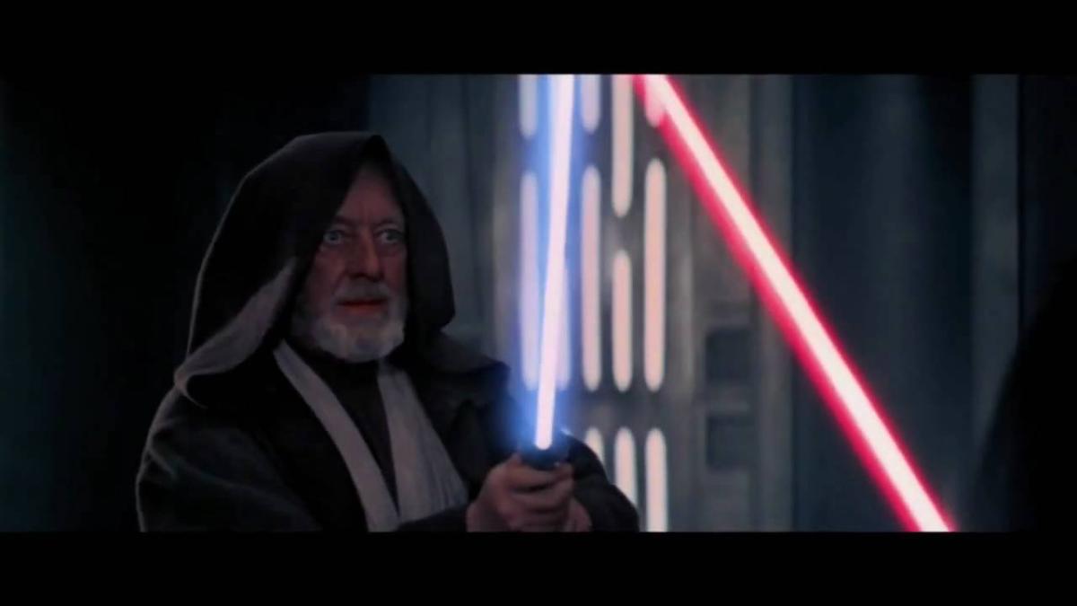 Obi-Wan Kenobi vs. Darth Vader