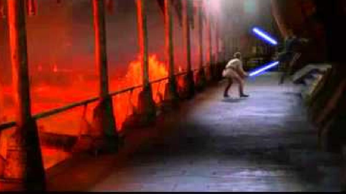 Anakin Skywalker vs. Obi-Wan Kenobi