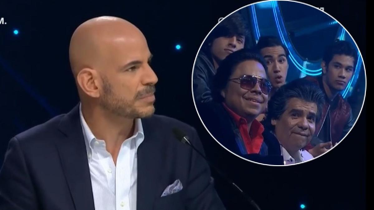 Yo Soy | Ricardo Morán incómodo por la conducta de los imitadores de CNCO.