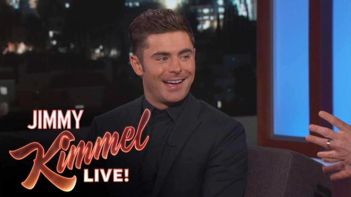 Así fue la entrevista que le hizo Jimmy Kimmel a Zac Efron.