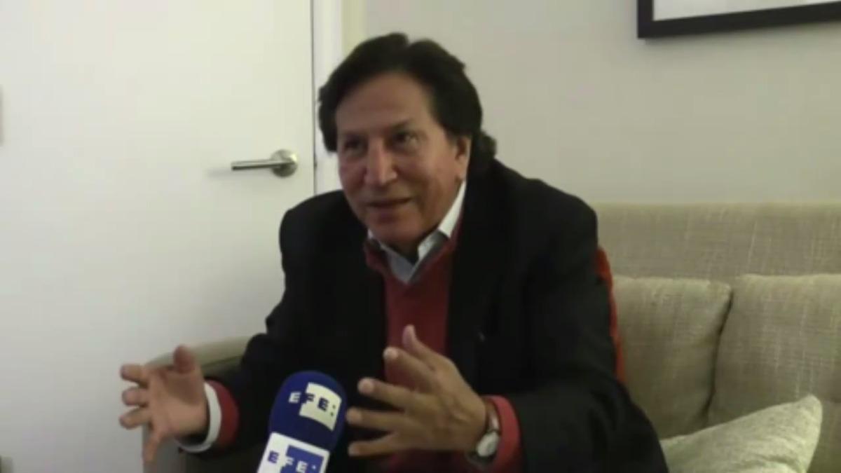 Alejandro Toledo se declara inocente de los casos de corrupción abiertos contra él, y acusa de su situación a una conspiración política de sus rivales Keiko Fujimori y Alan García.