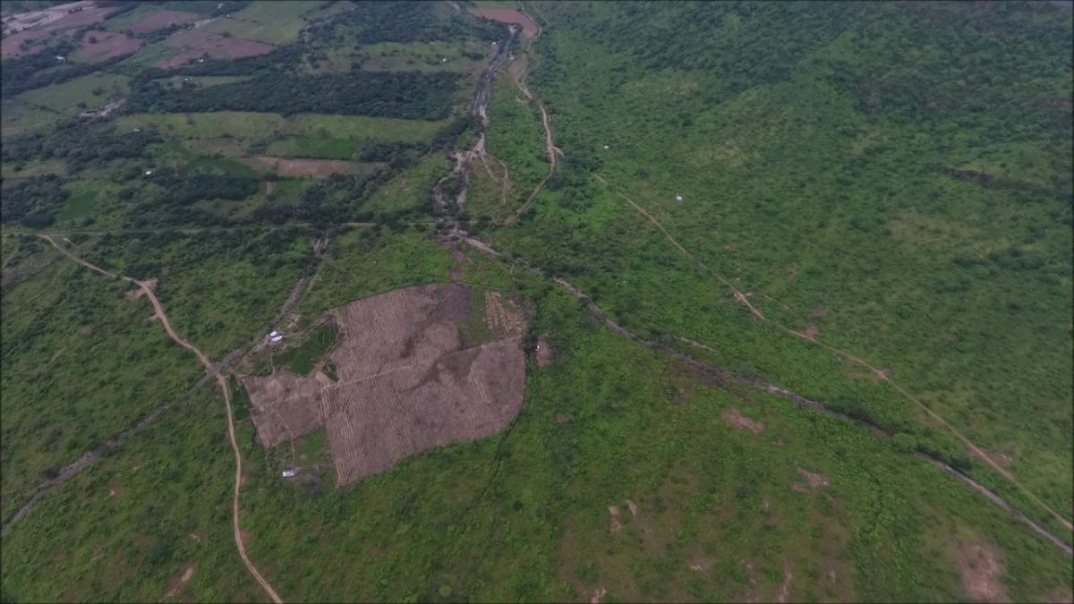 Deforestación en la ACP Chaparri, Pampa Yaipón.