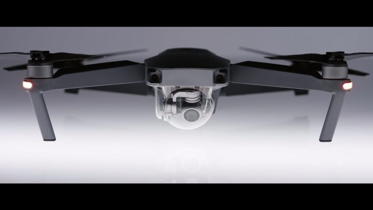 Comercial sobre el drone Mavic Pro.