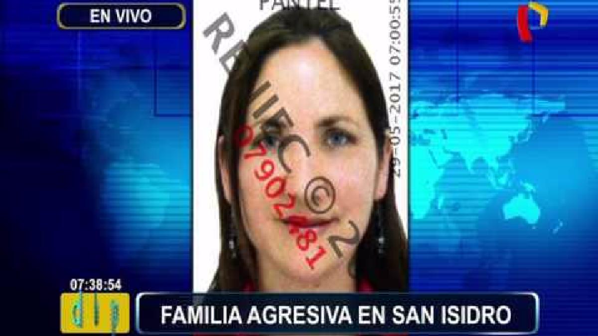 Una pareja de enamorados denunció la agresión sufrida por parte de una familia en San Isidro.