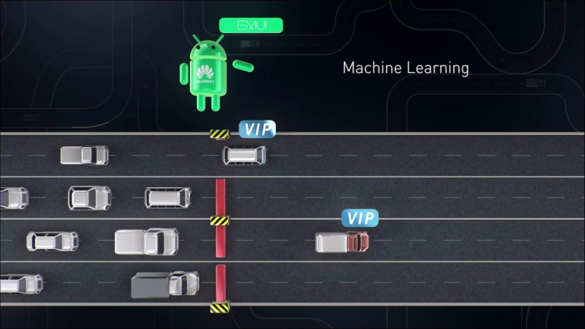 El algoritmo en los equipos Huawei va aprendiendo del uso y costumbre del usuario para optimizar el rendimiento.