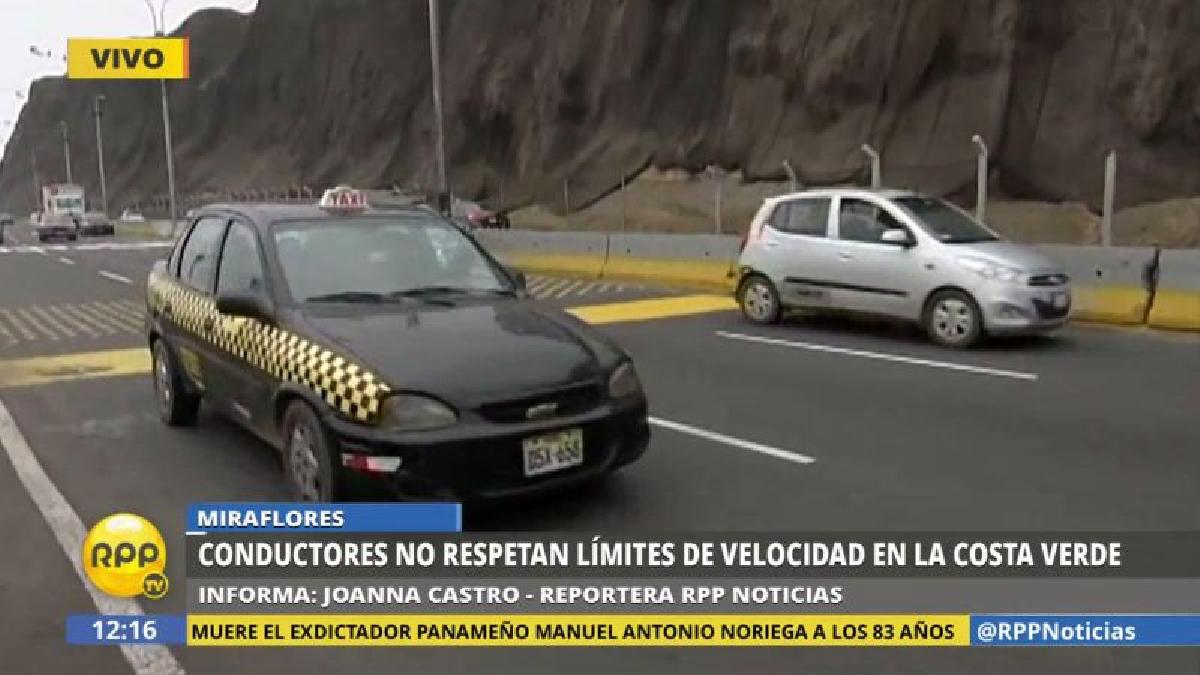 La Costa Verde es habitual escenario de accidentes de tránsito, y una de las causas es el exceso de velocidad.