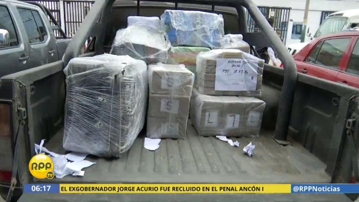 Los narcotraficantes fueron capturados en operaciones realizadas en simultáneo en Lima y Callao.