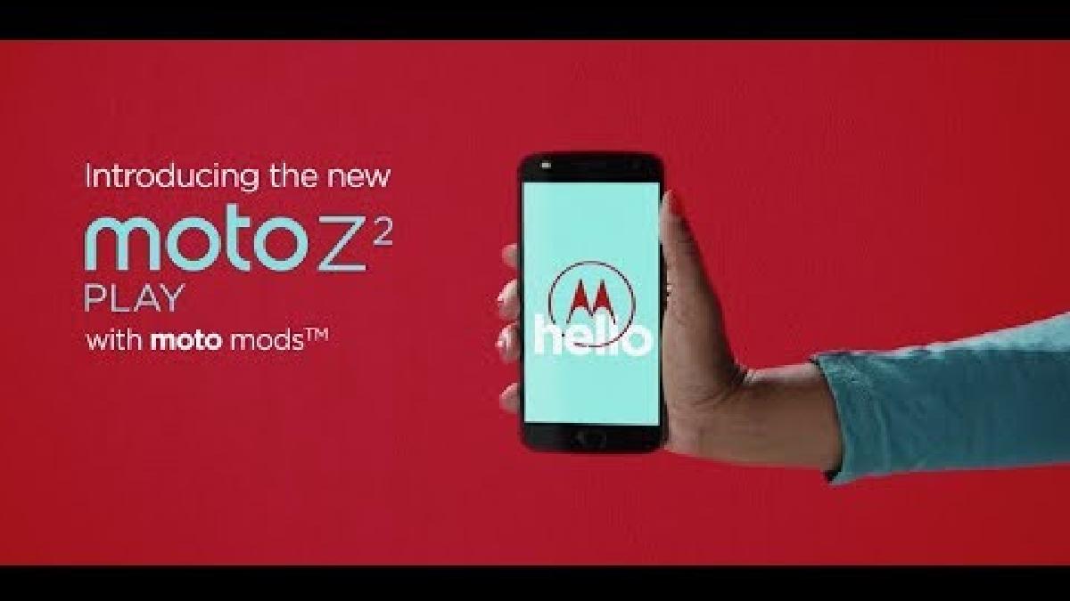 Promoción del Moto Z2 Play