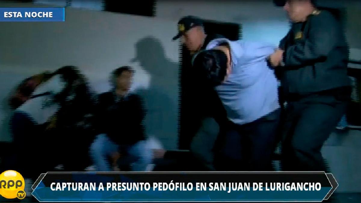 El detenido es conocido como 'Mostro Martín'
