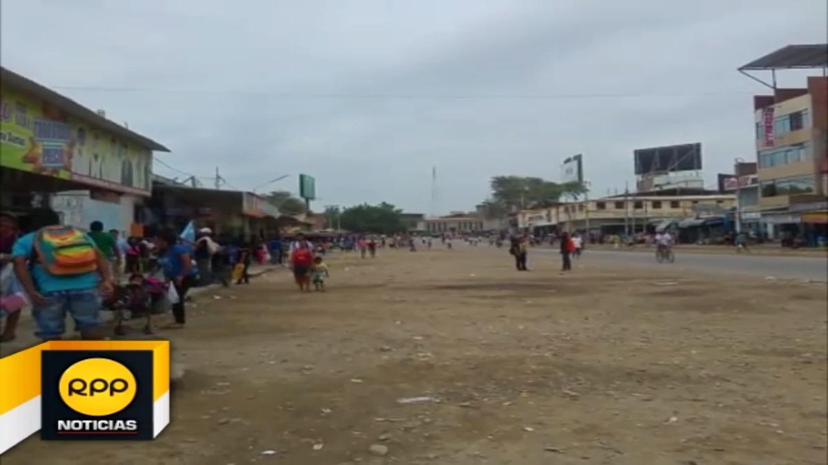 No se decomisó mercadería, ni tampoco se registraron enfrentamientos entre comerciantes y personal municipal.