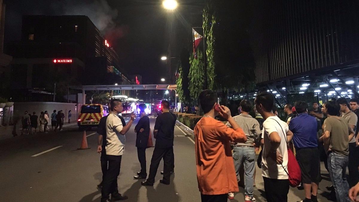 Emergencia en Manila.