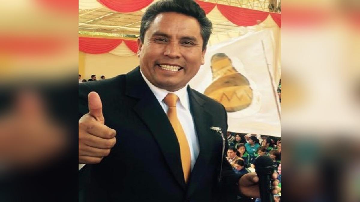 Gobernador Regional de Junín, Ángel Unchupaico.