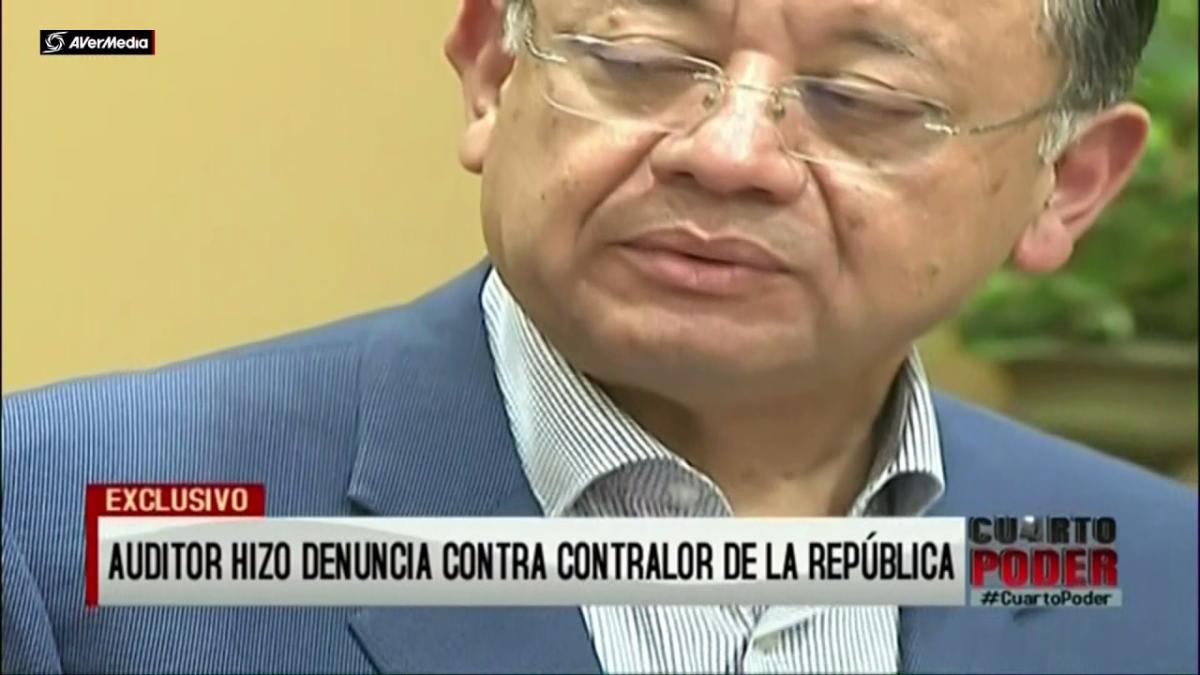 El reportaje de Cuarto Poder recoge el testimonio del funcionario que denunció a Alarcón ante el Congreso.