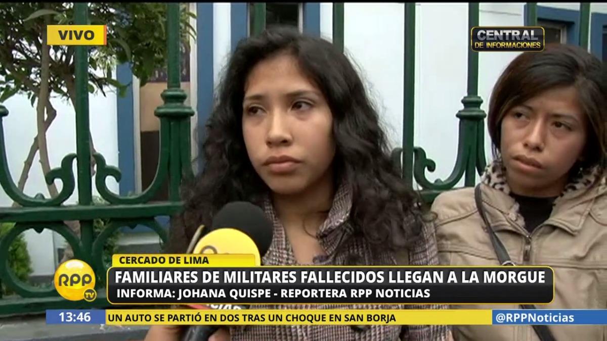 Carmen Lamas dijo que su primo, el soldado Miguel León Lamas, se estaba recuperando de una fractura y no sabía nadar. Por ello, considera poco creíble que se haya aproximado al mar voluntariamente.