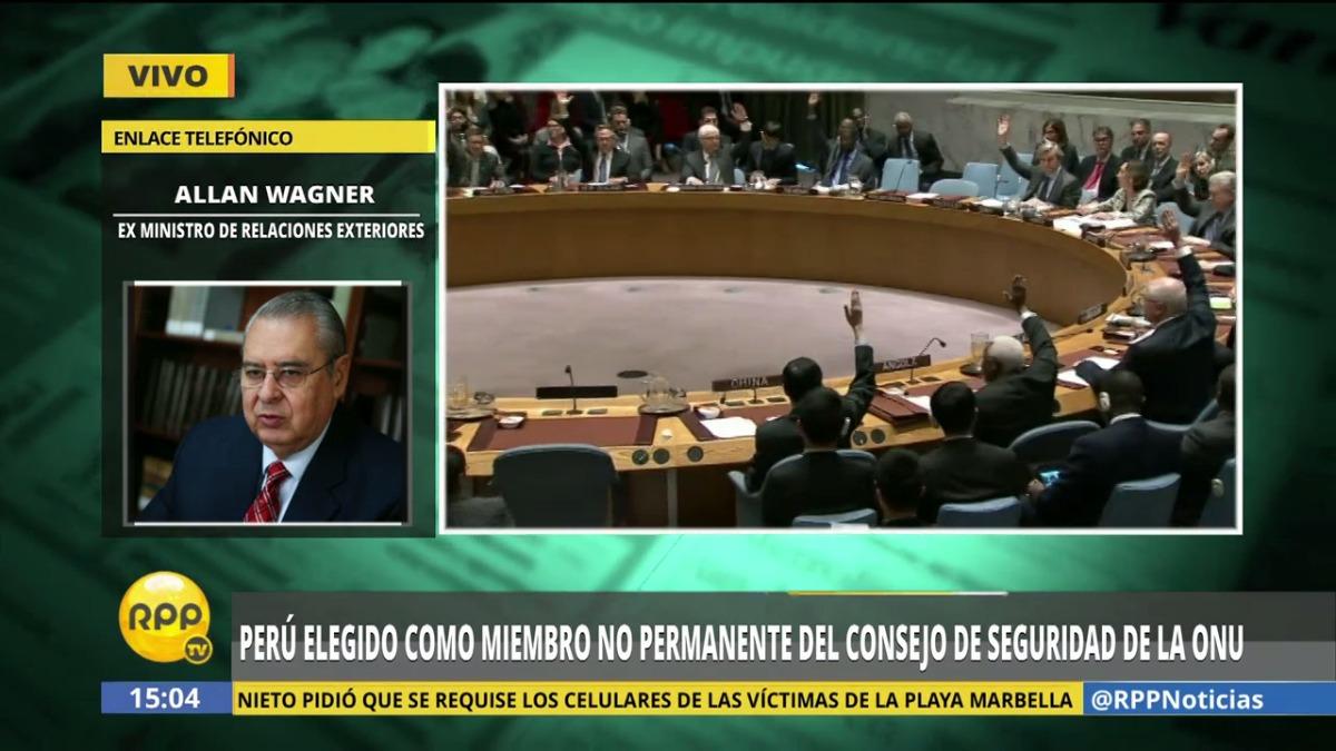 Perú ha sido elegido por quinta vez miembro del Comité de Seguridad de las Naciones.