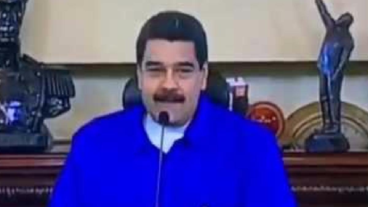 Le tuvieron que avisar al presidente venezolano que había cometido un error.