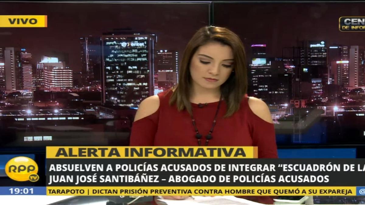 Entrevista al abogado de policías acusados de ejecuciones extrajudiciales, Juan José Santibáñez.