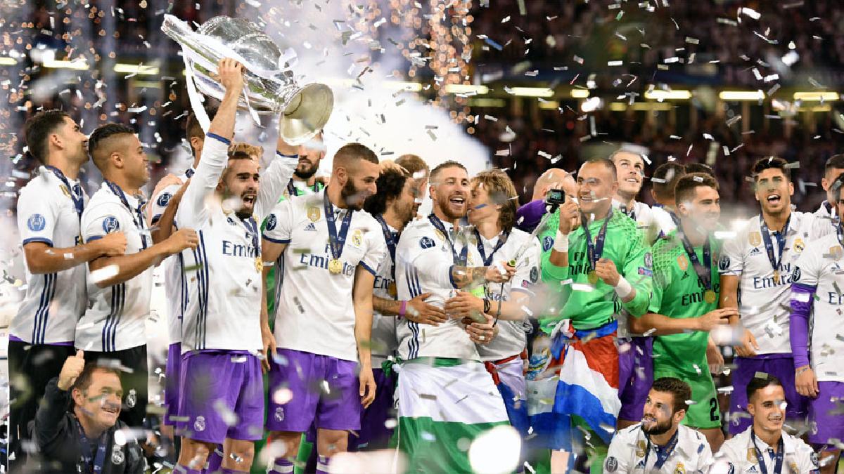 El Real Madrid continua en la cima del nuevo ranking de la UEFA