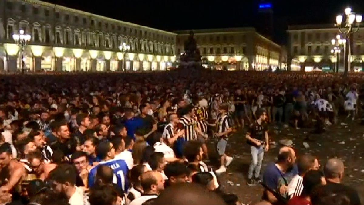 El incidente se inició cuando faltaban unos 10 minutos para el final del partido.