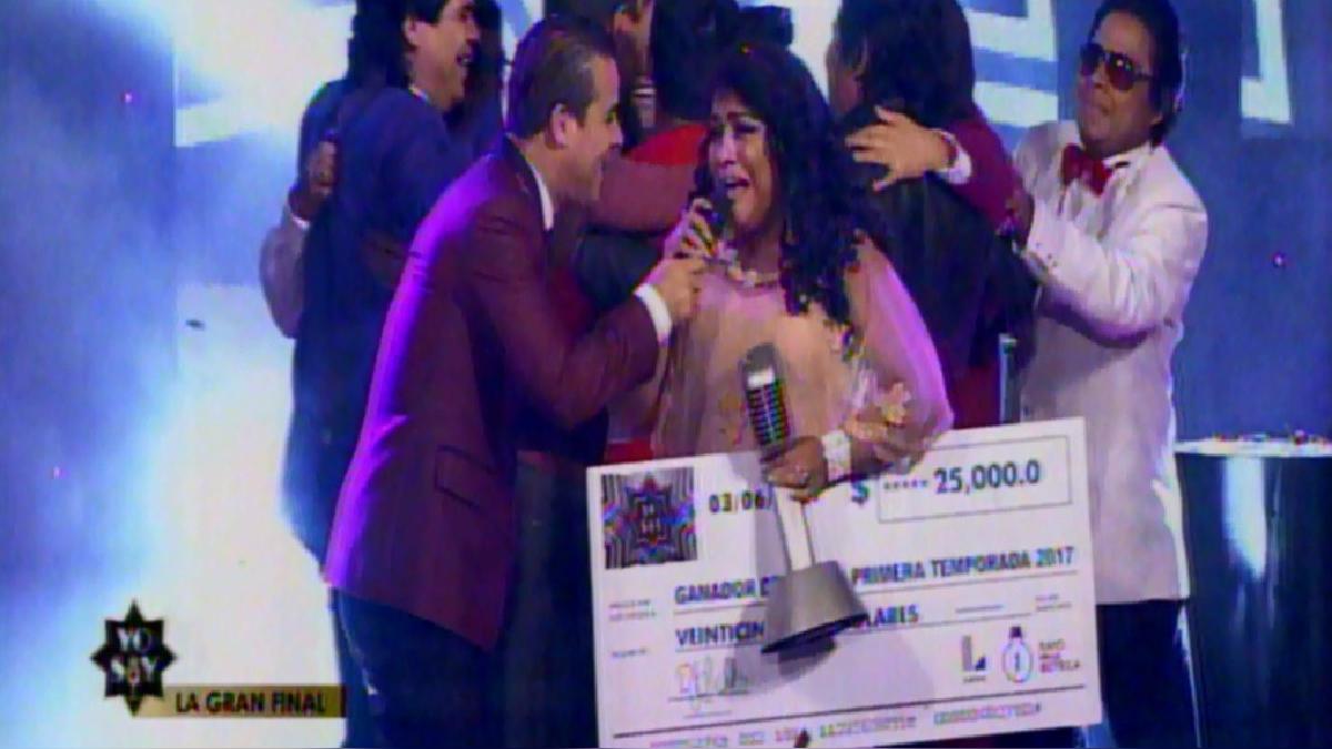 Carmen Castro se convirtió en la primera mujer en ganar el concurso de imitación.
