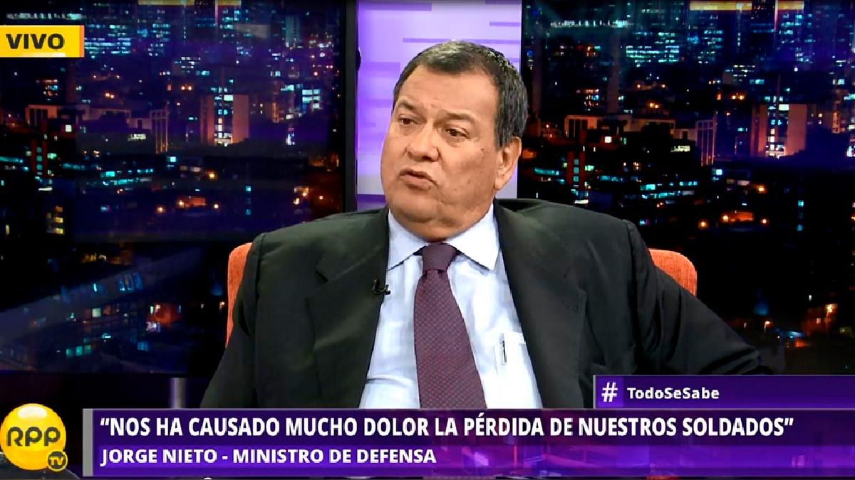 Nieto Montesinos estuvo en el programa Todo se Sabe de RPP.
