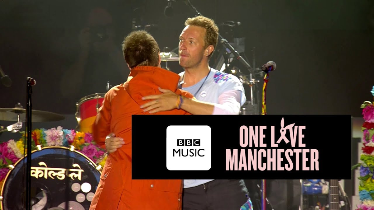 Liam Gallagher & Coldplay - Live Forever