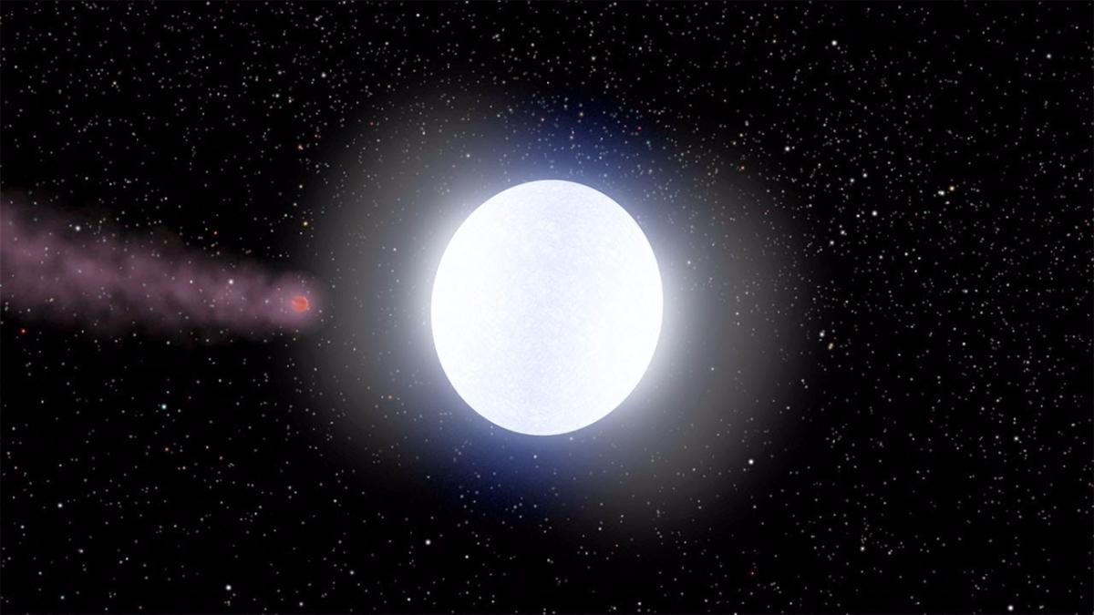 Debido a que el planeta está continuamente siendo bombardeado por la radiación estelar, el calor es tan extremo que no se pueden formar moléculas como el agua, el dióxido de carbono o el metano.