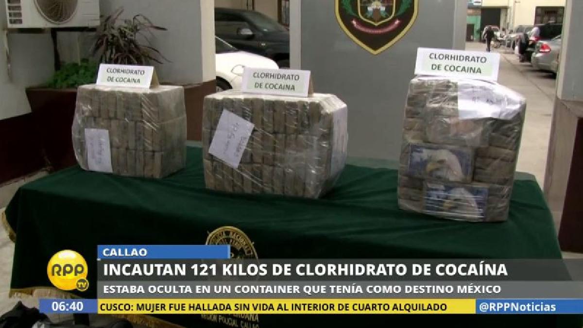 La Policía estimó que la droga podría ser comercializada en el mercado negro hasta por dos millones de dólares.