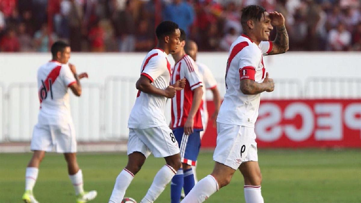 Perú derrotó 1-0 a Paraguay