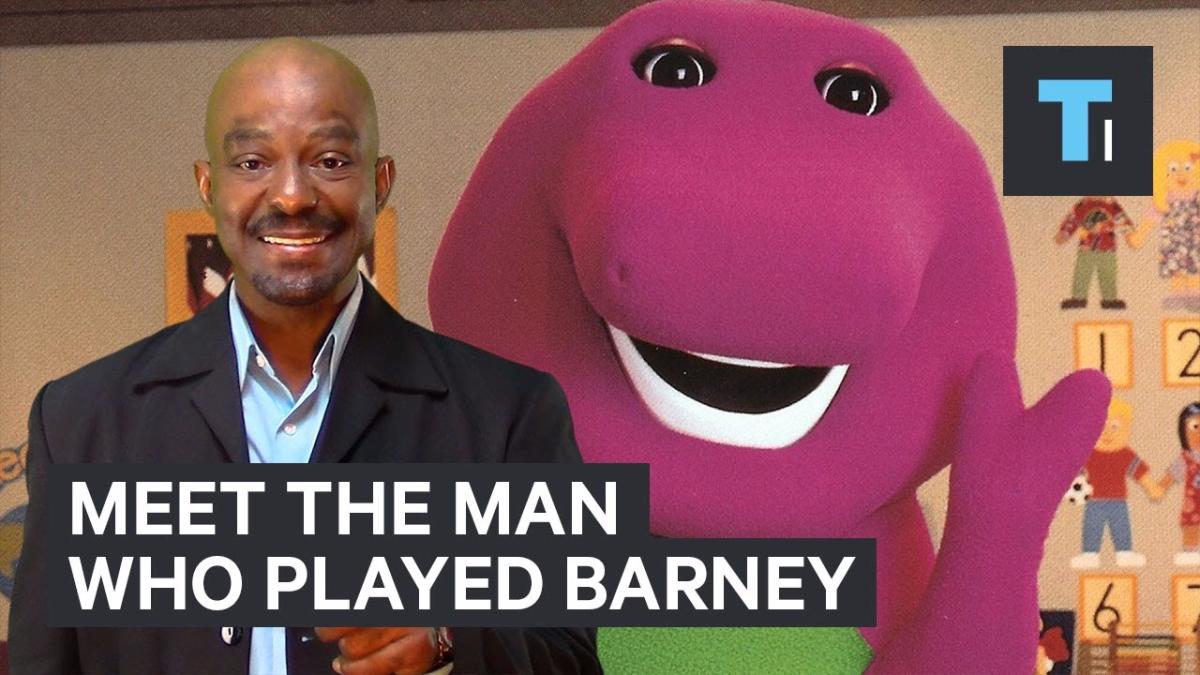 El actor explica cómo fue su experiencia como Barney