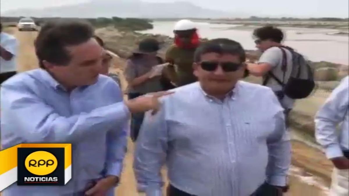 El alto funcionario anunció que se realizará la descolmatación y trabajos de defensa ribereña en 16 ríos de la zona norte.