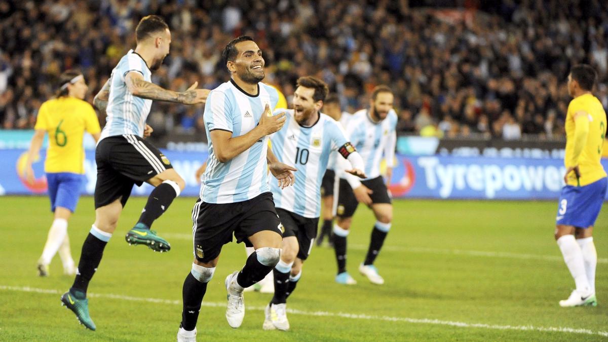 Revive el gol de Gabriel Mercado con el que Argentina venció por 1-0 a Brasil.