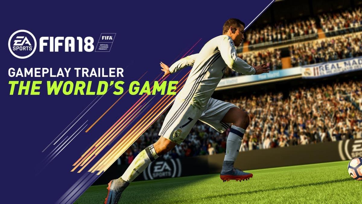 FIFA 18 está protagonizado por el portugués Cristiano Ronaldo.