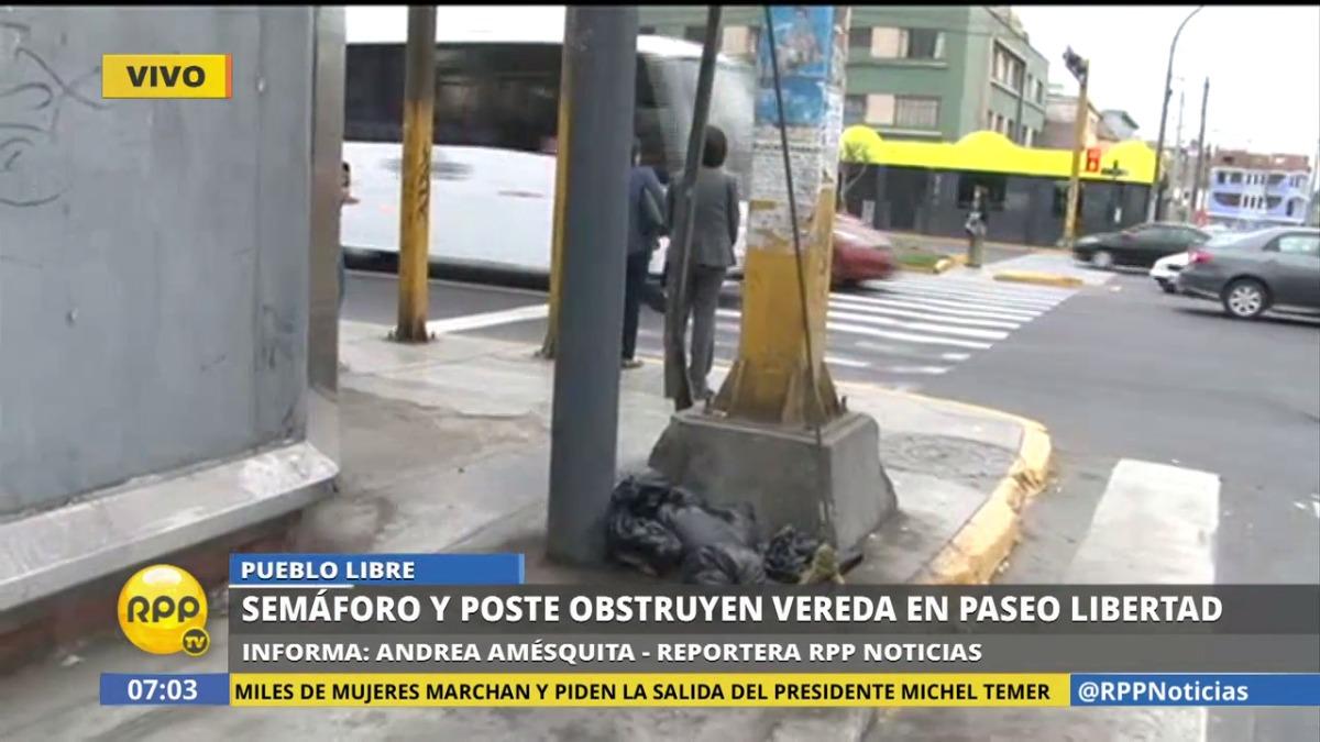RPP Noticias estuvo en Paseo de La Libertad y la cuadra 3 de la Av. La Marina, en Pueblo Libre.