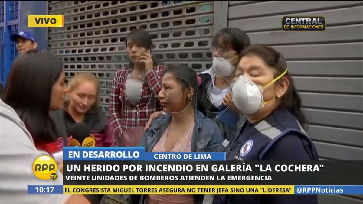 El testimonio de Raquel Espinoza a RPP Noticias.