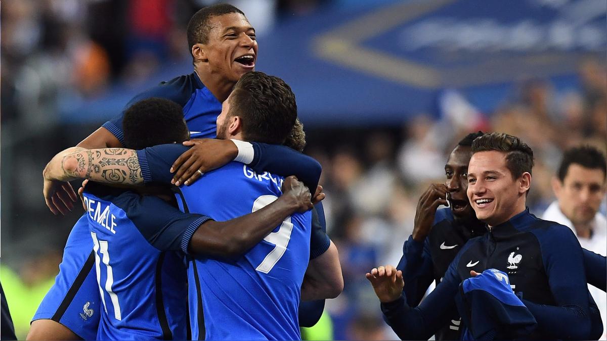 Revive el resumen y los goles del triunfo de Francia.