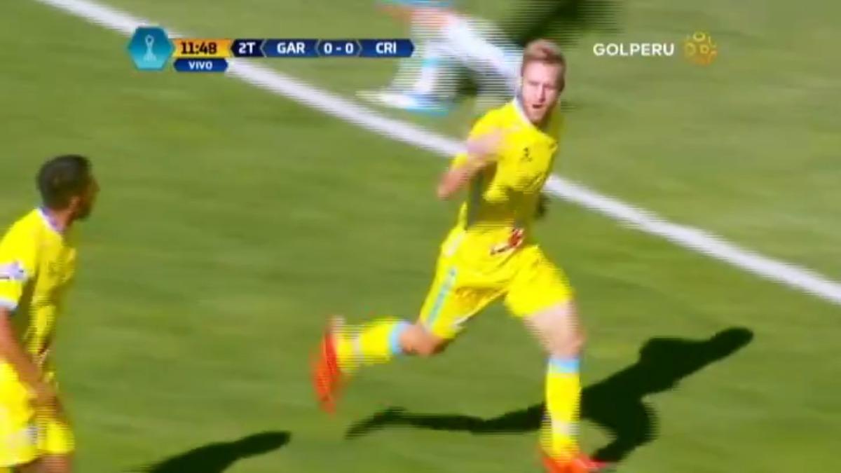 El único gol del partido fue anotado por Danilo Carando para Real Garcilaso.