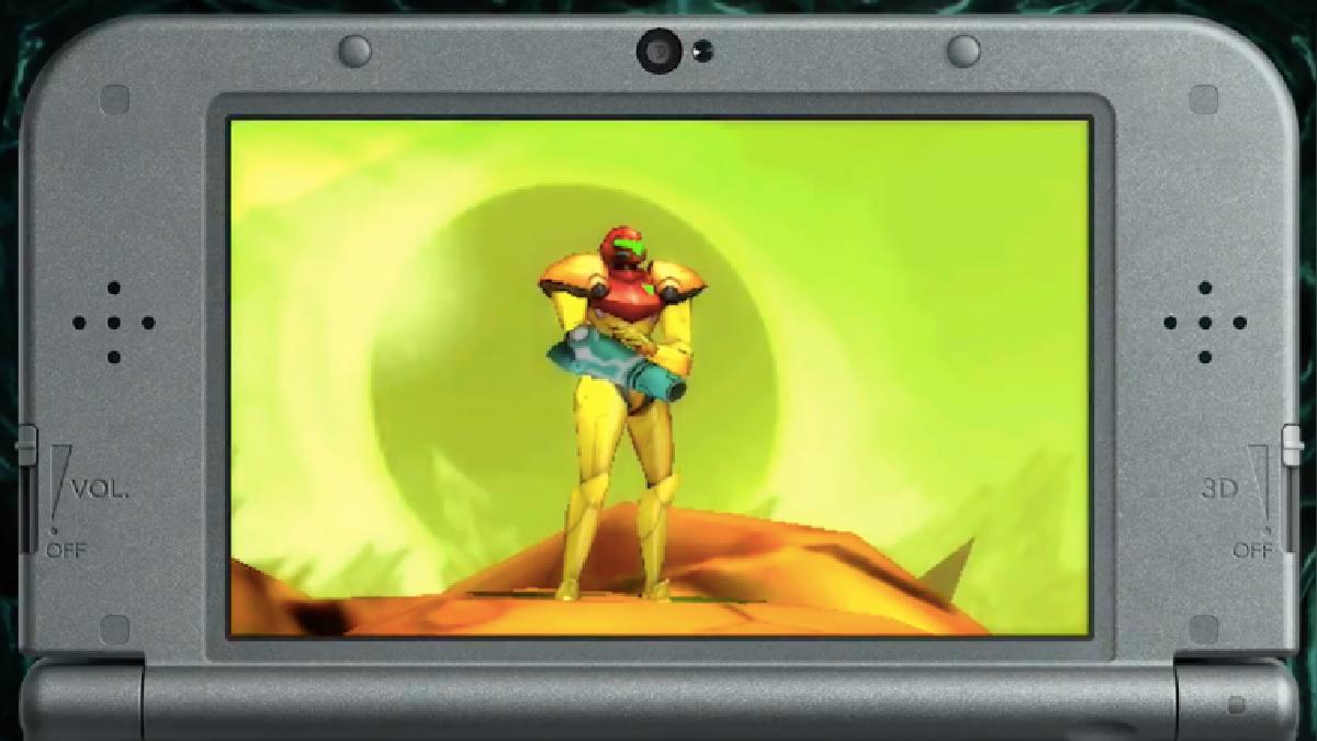 Metroid para 3DS.
