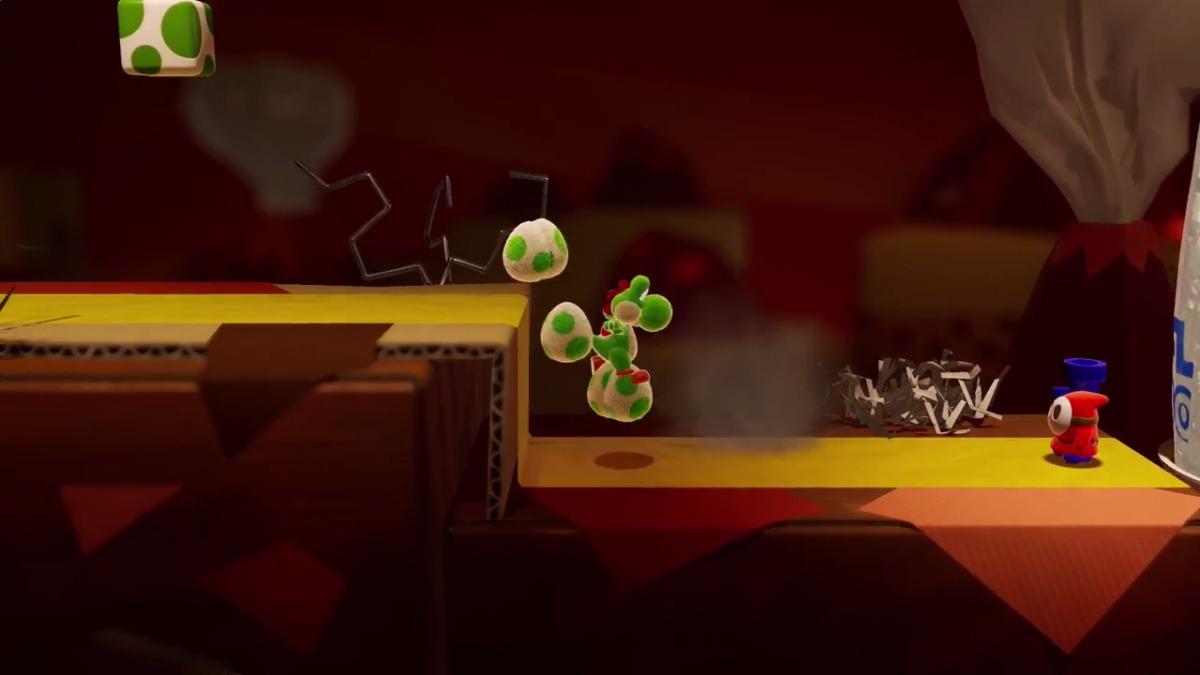 El nuevo juego de Yoshi.