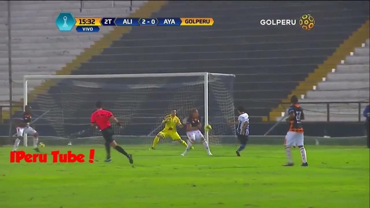 Alianza Lima encontró el triunfo con goles de Luis Ramírez, Luis Garro, Óscar Vílchez y Germán Pacheco.