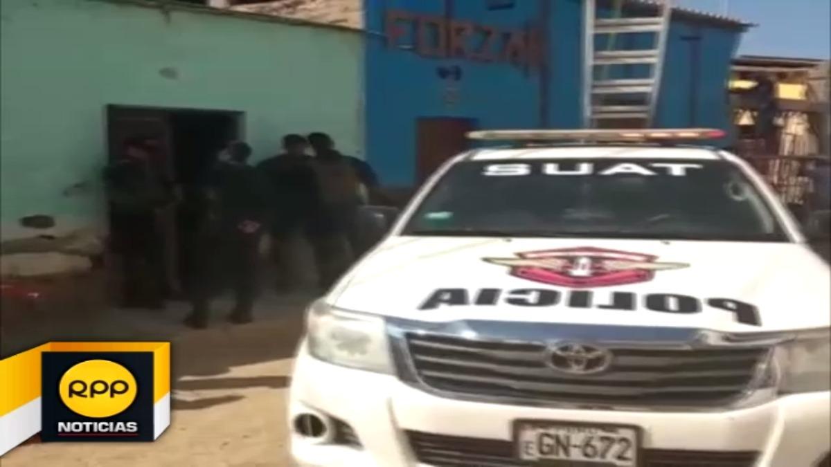La policía allanó de manera simultánea 12 viviendas en Chiclayo y Ferreñafe.