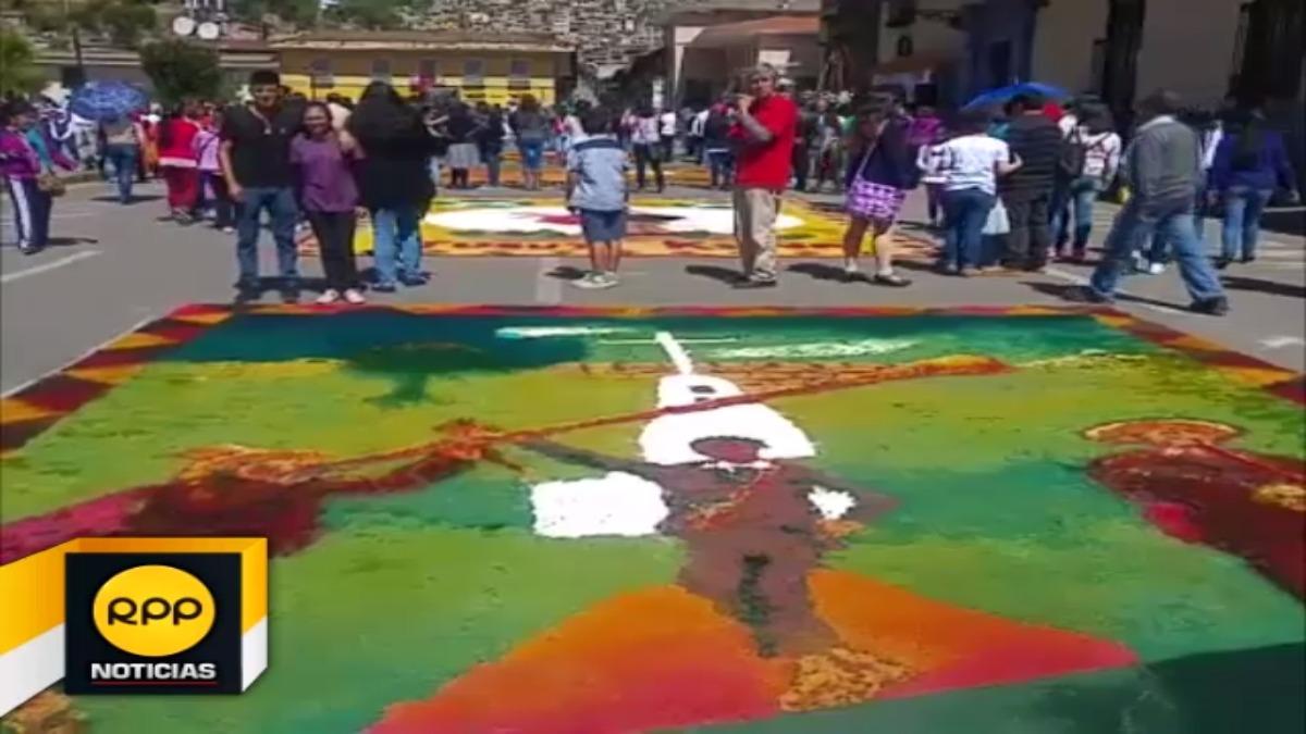 Corpus Christi en Cajamarca