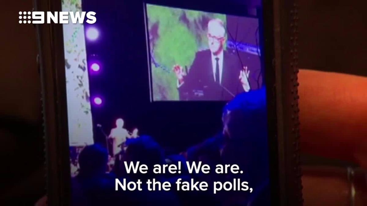 Turnbull imitó la manera de hablar de Trump en una reunión informal.